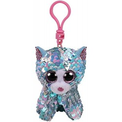 TY SEQUINS WHIMSY LE CHAT PORTE CLES