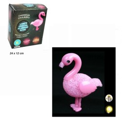 LAMPE VEILLEUSE FLAMAND ROSE