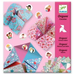 ORIGAMI DJECO COCOTTES A GAGES FLEURS