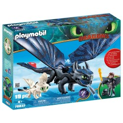 70037 KROKMOU ET HAROLD DRAGONS PLAYMOBIL