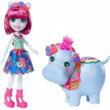 POUPEE ENCHANTIMALS + ANIMAL HIPPO
