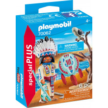 70062 CHEF INDIEN PLAYMOBIL SPECIAL PLUS