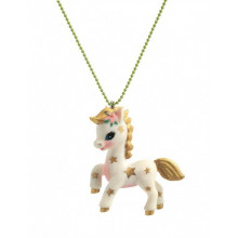 LOVELY CHARMS LICORNE COLLIER ENFANT DJECO