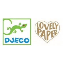 CAHIER LUCILLE LOVELY PAPER DJECO