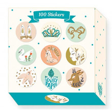 100 STICKERS LUCILLE DJECO