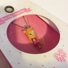 COLLIER ENFANT AVEC PENDENTIF CHAT LOVELY CHARMS DJECO