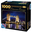 PUZZLE ADULTE 1000 PIECES DISCOVER EUROPE LA TOUR DE LONDRES