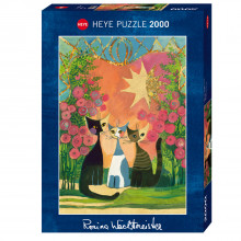PUZZLE ADULTES 2000 PIECES ROSINE WACHTMEISTER