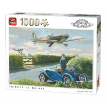 PUZZLE 1000 PIECES HISTORY COLLECTION TRIBUTE TO 610