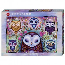 PUZZLE 1000 PIECES DREAMING GREAT BIG OWL