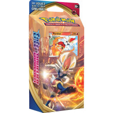 DECK POKEMON PYROBUT EPEE ET BOUCLIERS