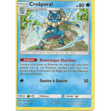 CARTE POKEMON CROAPORAL