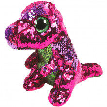 TY SEQUINS STOMPY LE DINOSAURE  15 CM