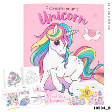 ALBUM DE COLORIAGE LICORNE TOP MODEL